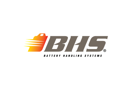 BHS Battery Handling Systems Material Handling Equipment Logo Home Page