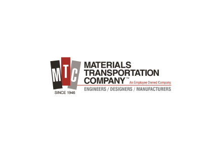 MTC Materials Transportation Company Material Handling Equipment Logo Home Page