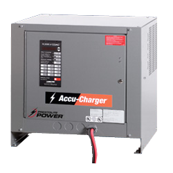Industrial Motive Power Ametek Prestolite Power Battery Charger Image Accu-Charger Ferroresonant Conventional